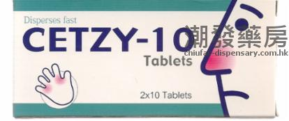 CETZY-10 TABLETS