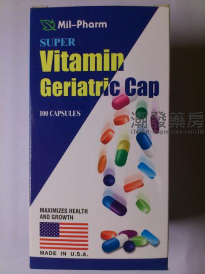 美国加宝大补丸SUPEP Vitamin Geriatric Cap